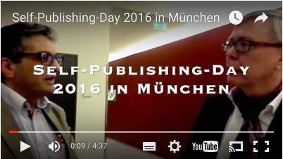 Timo E. Pohlhaus im Interview mit Thomas Hoffman auf dem Self-Publishing-Day2016 in München